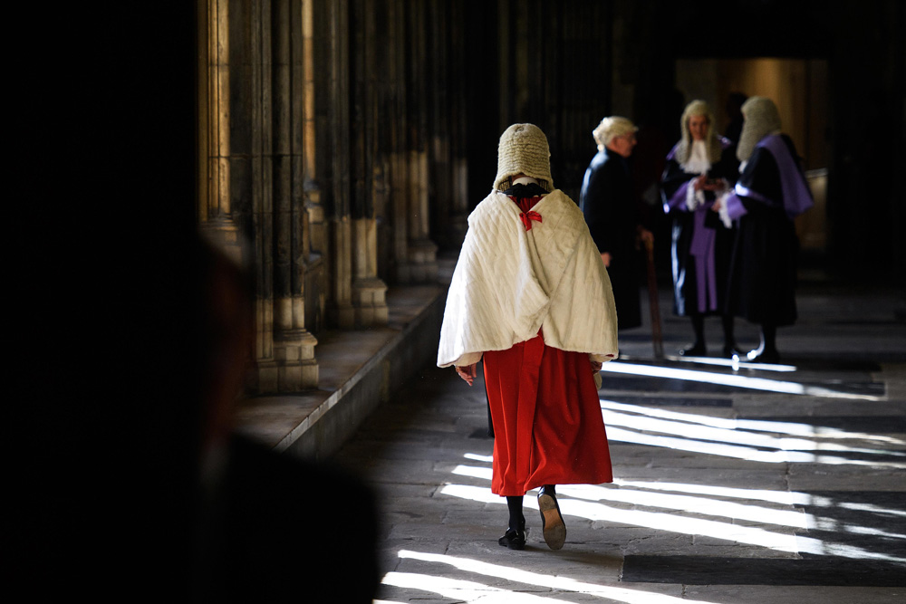 Judges Service at Westminster Abbey from Portraits fine art photography