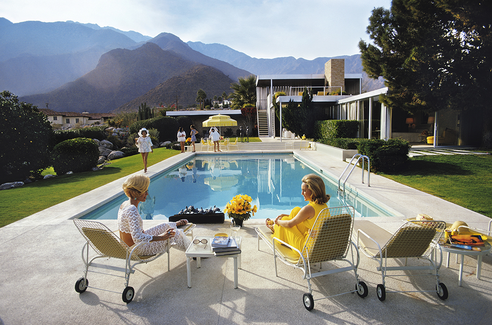 Poolside Glamour from Slim Aarons Poolside fine art photography