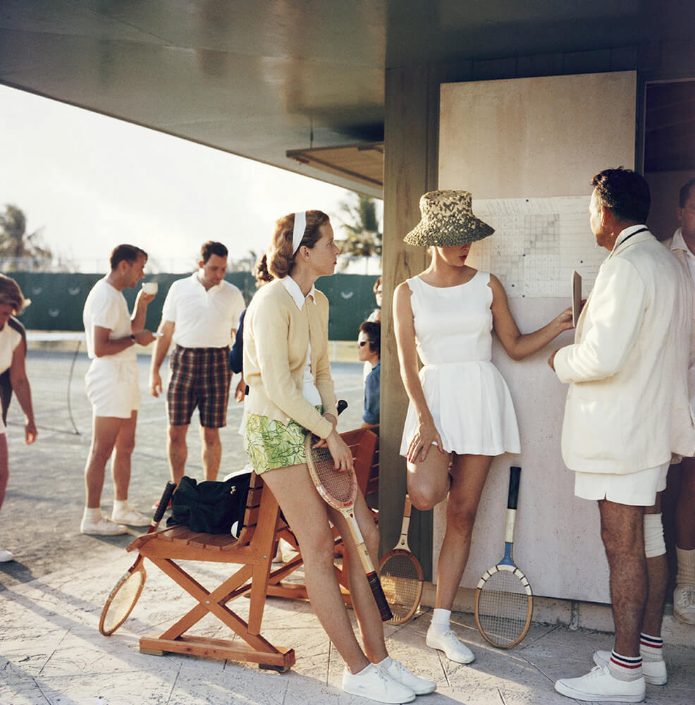 Tennis In The Bahamas from Slim Aarons Islands fine art photography