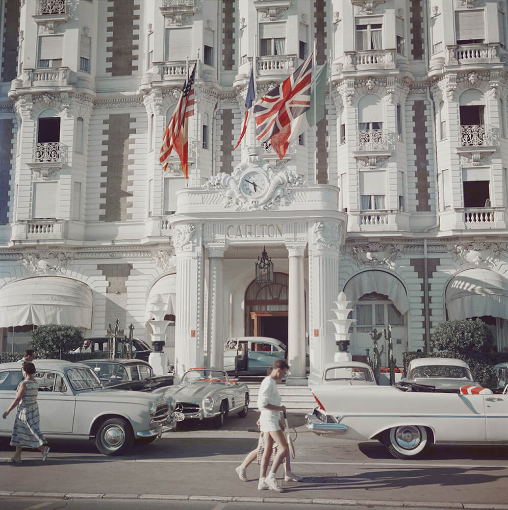 Carlton Hotel from Slim Aarons France  fine art photography