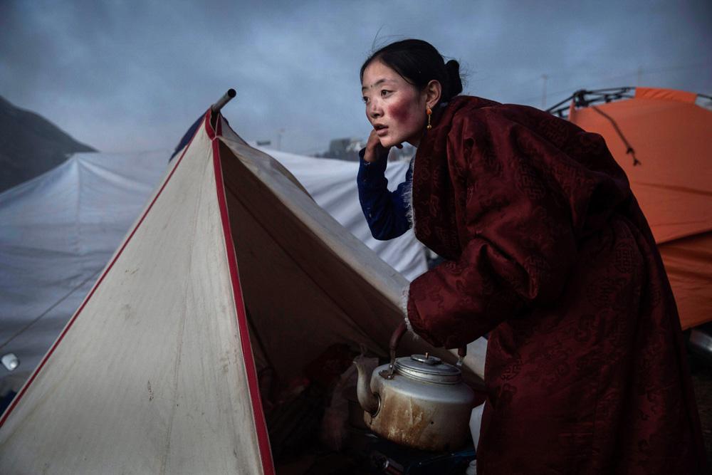 Nomad Preparing Tea fine art photography
