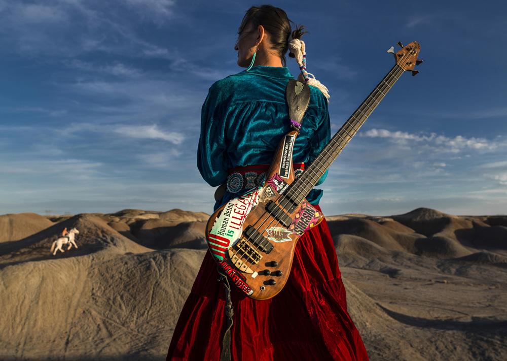 Navajo Punk fine art photography