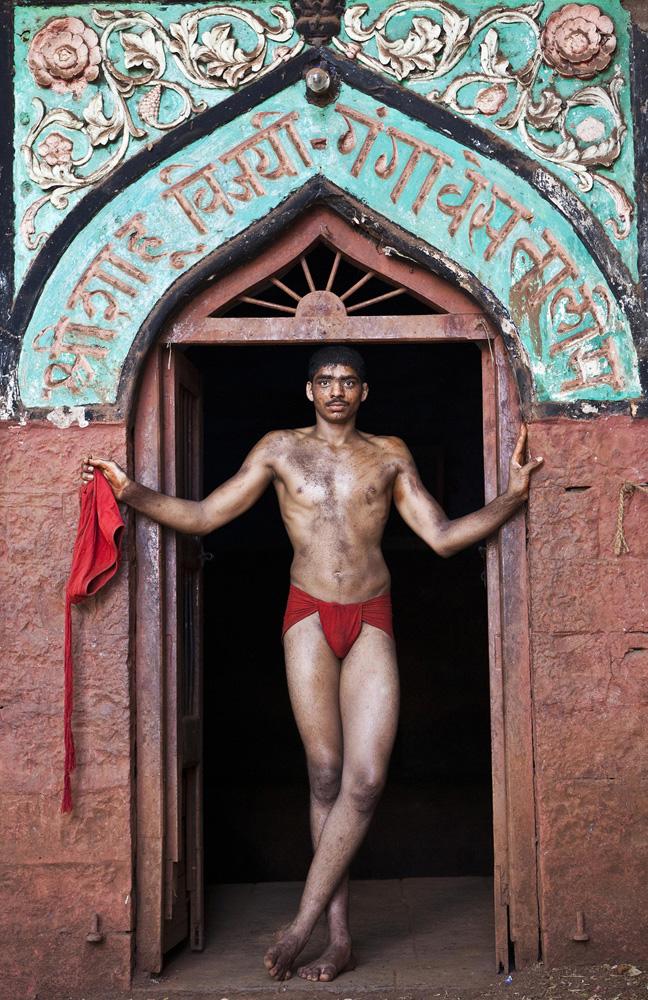 Indian Kushti Wrestler from Portraits fine art photography