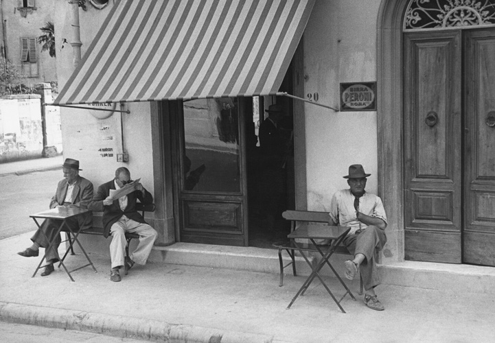 Italian Cafe fine art photography