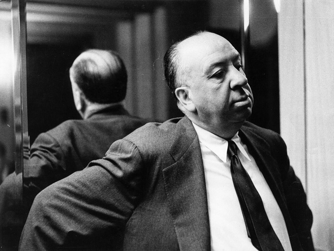 Alfred Hitchcock from Picture Post fine art photography