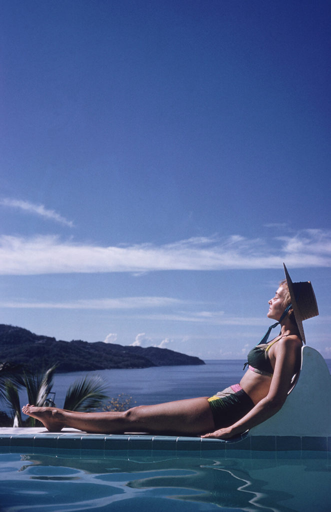 Between Sea And Sky from Slim Aarons Poolside fine art photography