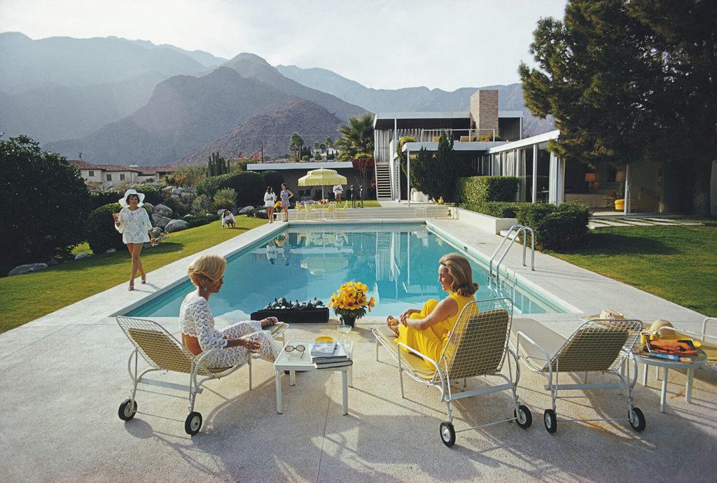 Poolside Gossip from Slim Aarons Poolside fine art photography