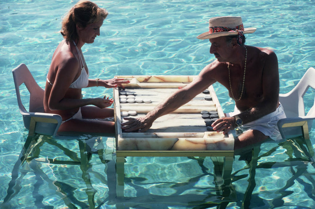 Keep Your Cool from Slim Aarons Poolside fine art photography