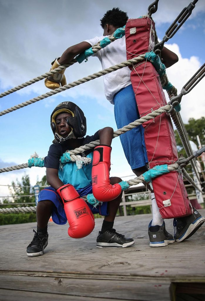 Young Boxers from Sports fine art photography