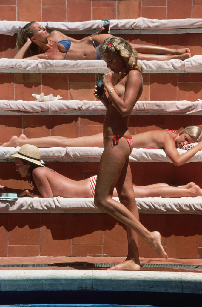Catherine Wilke from Slim Aarons Italy fine art photography