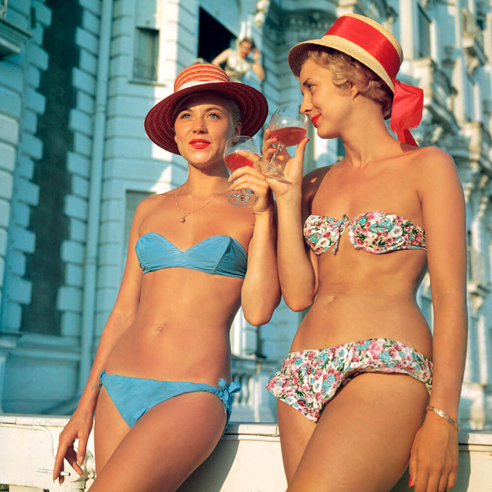 Sundowners from Slim Aarons France  fine art photography