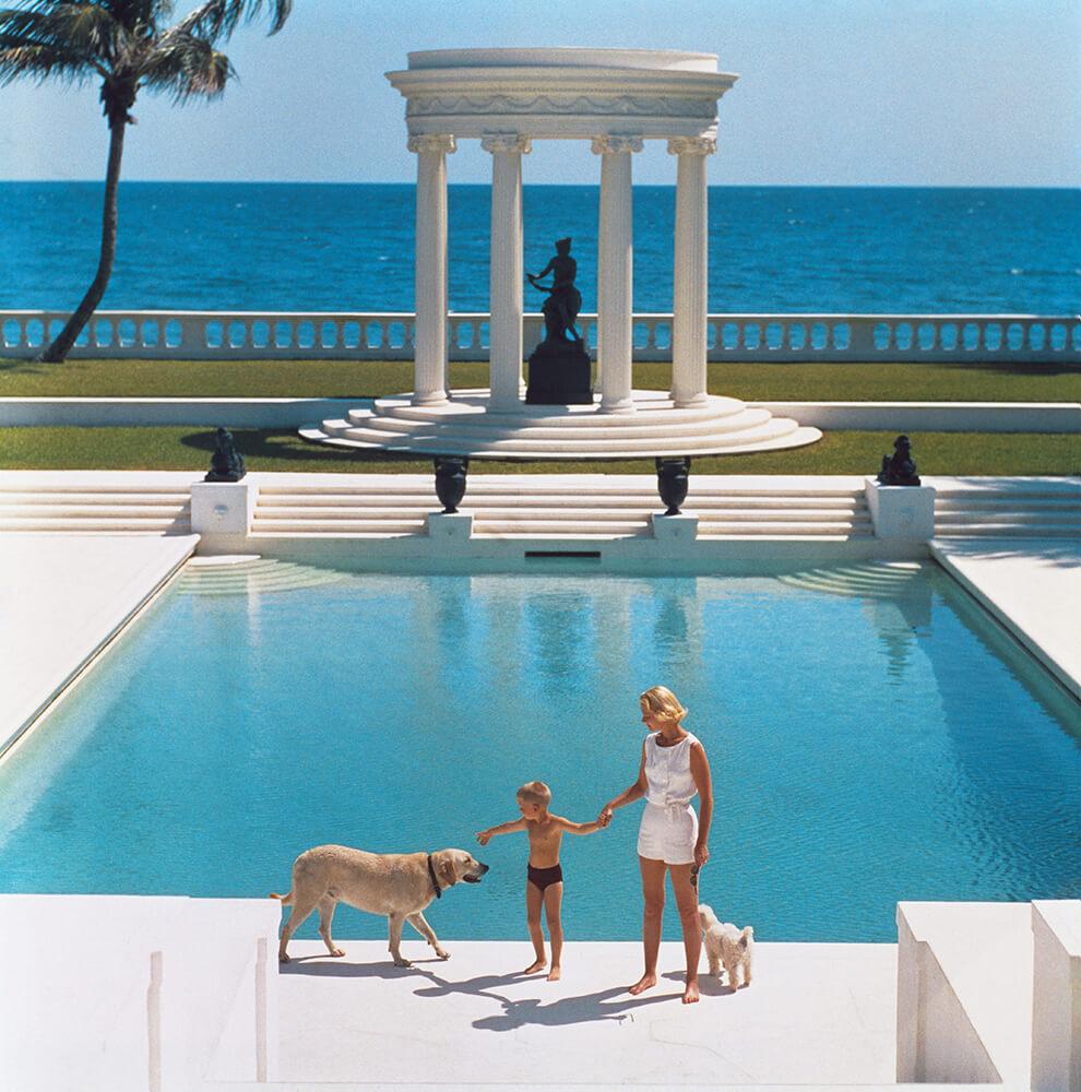 Nice Pool from Slim Aarons Poolside fine art photography