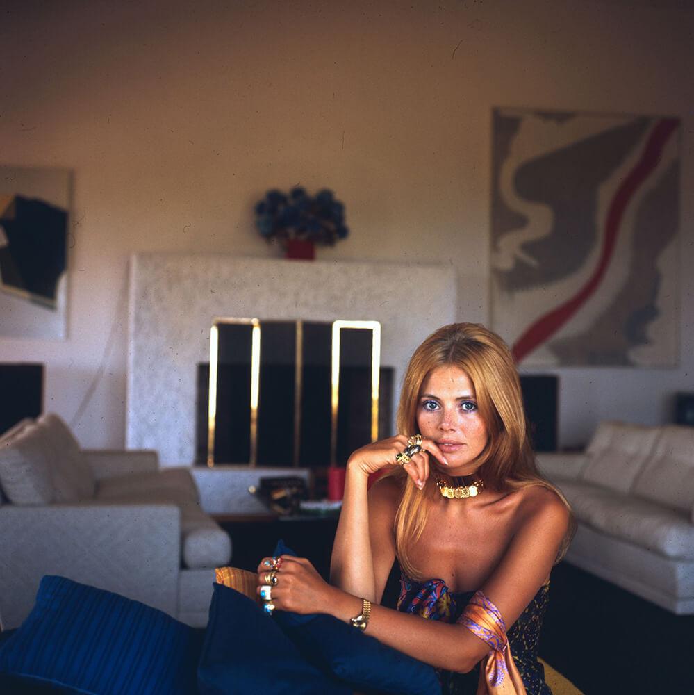 Britt Ekland from Slim Aarons Italy fine art photography