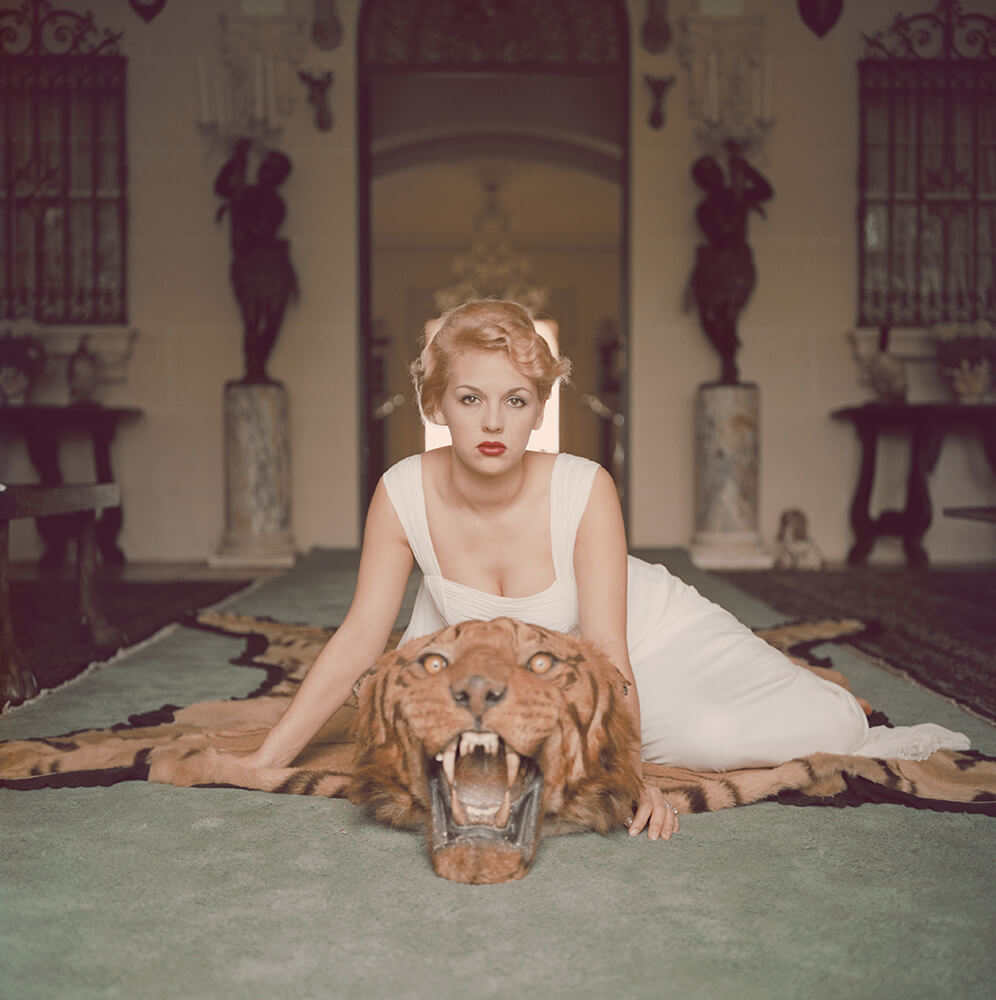 Beauty And The Beast from Slim Aarons West Coast fine art photography