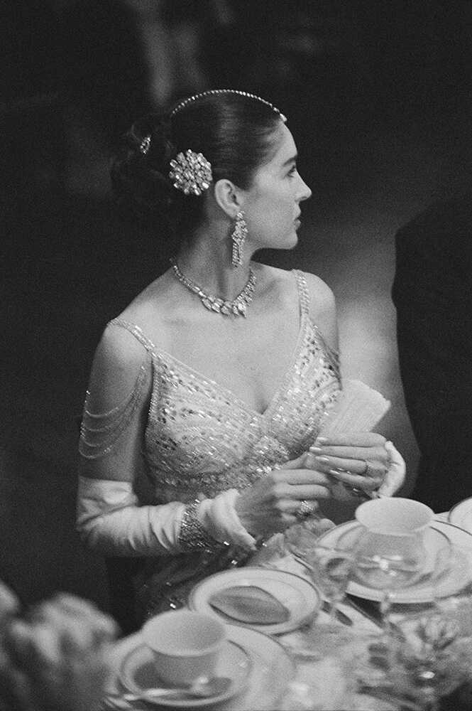 Decked In Finery from Slim Aarons B&W fine art photography
