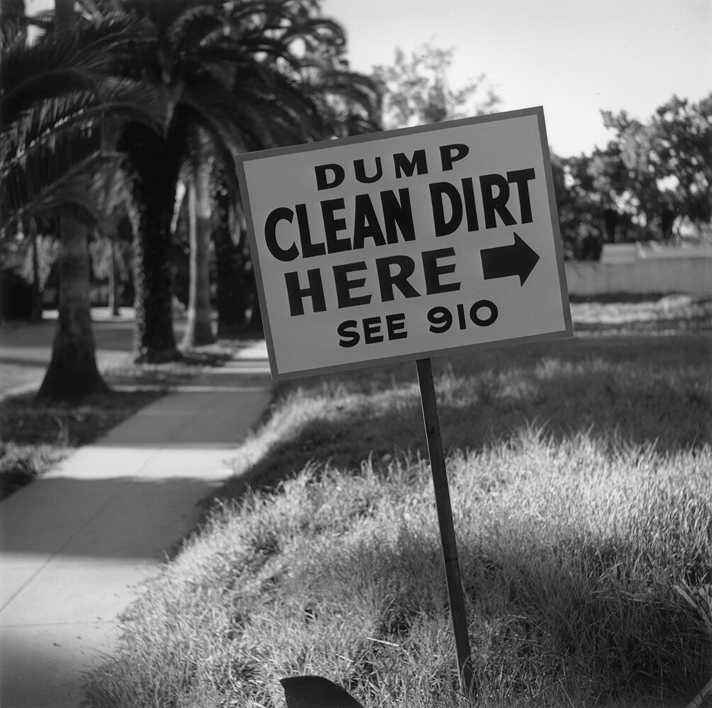 Clean Dirt from Slim Aarons B&W fine art photography
