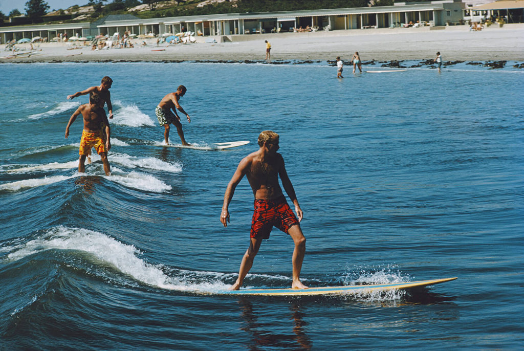 Surfing Brothers from Slim Aarons West Coast fine art photography