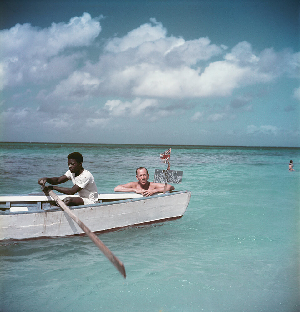 Coward Abroad from Slim Aarons Islands fine art photography