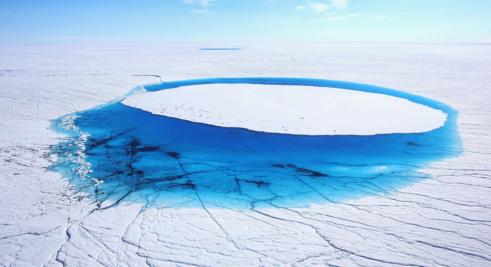 Greenland Ice Sheet #1 from Snow fine art photography