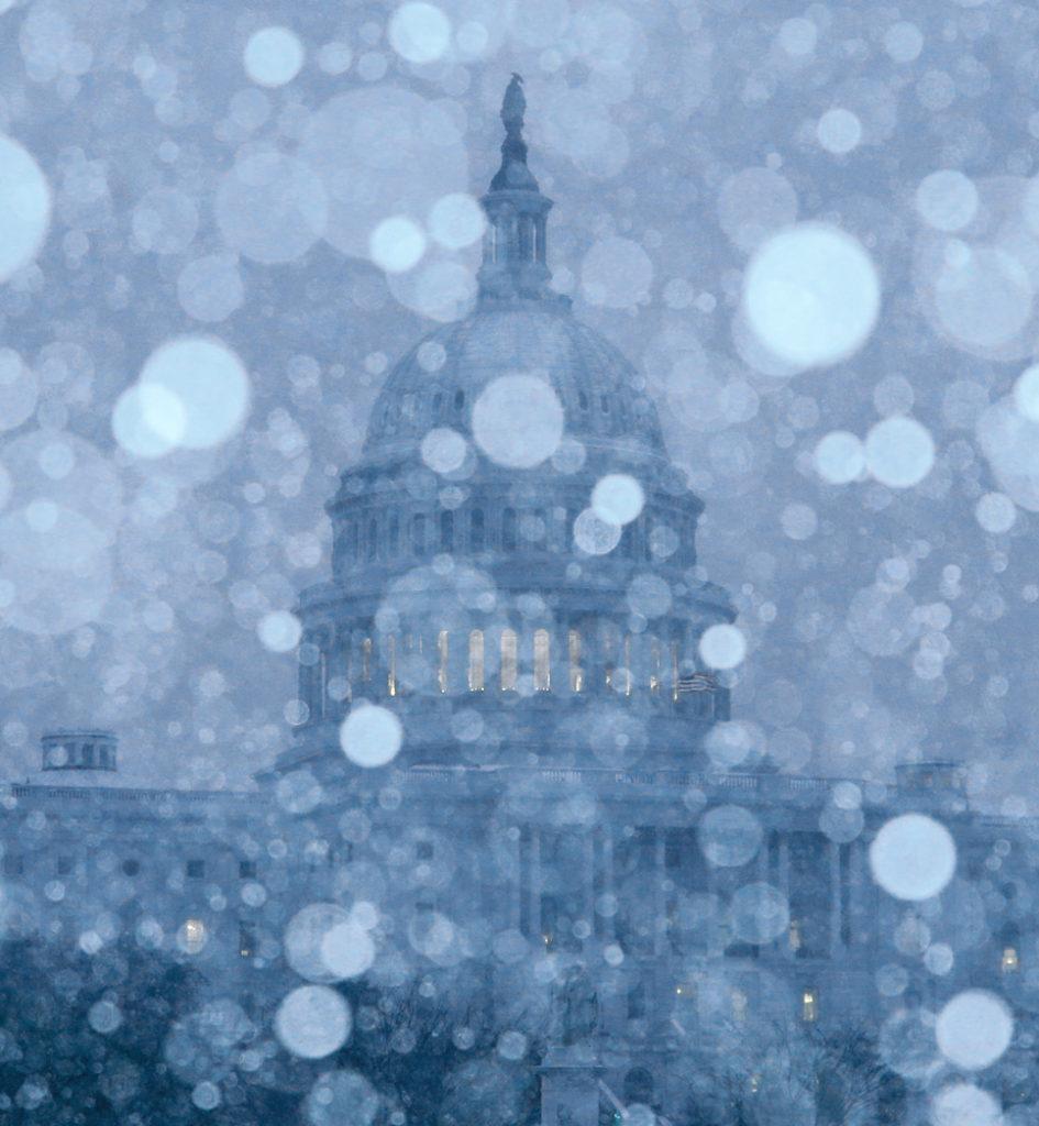 Storm Descends on Washington fine art photography