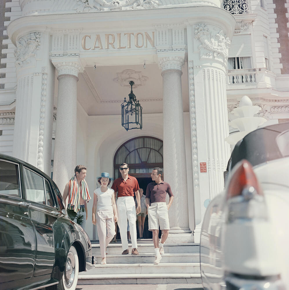 Staying At The Carlton from Slim Aarons France  fine art photography