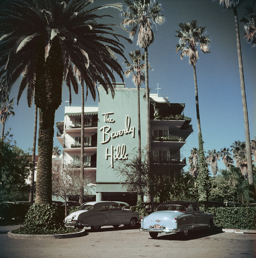 Beverly Hills Hotel from Slim Aarons West Coast fine art photography