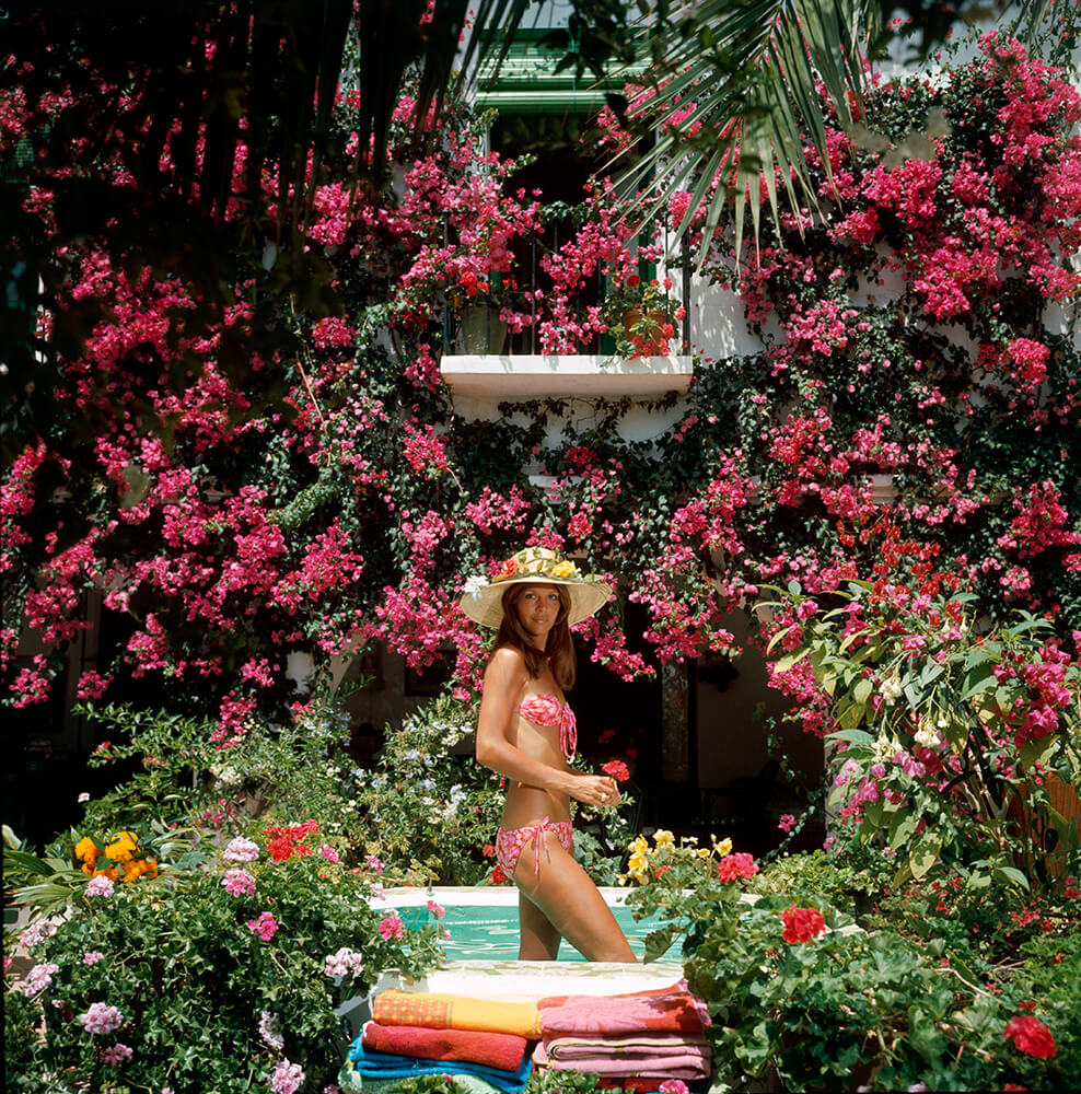 Valerie Cates from Slim Aarons Islands fine art photography