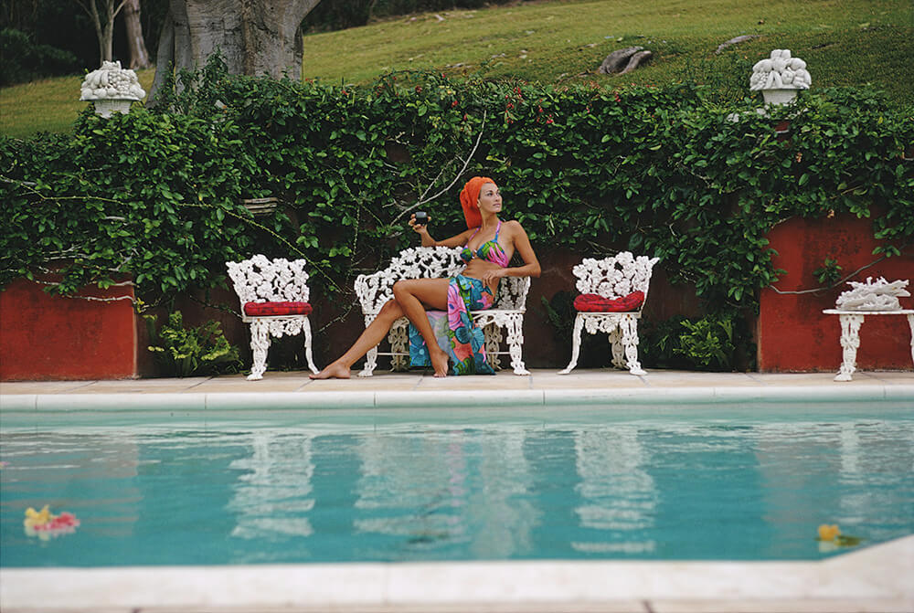 Lounging In Bermuda from Slim Aarons Islands fine art photography