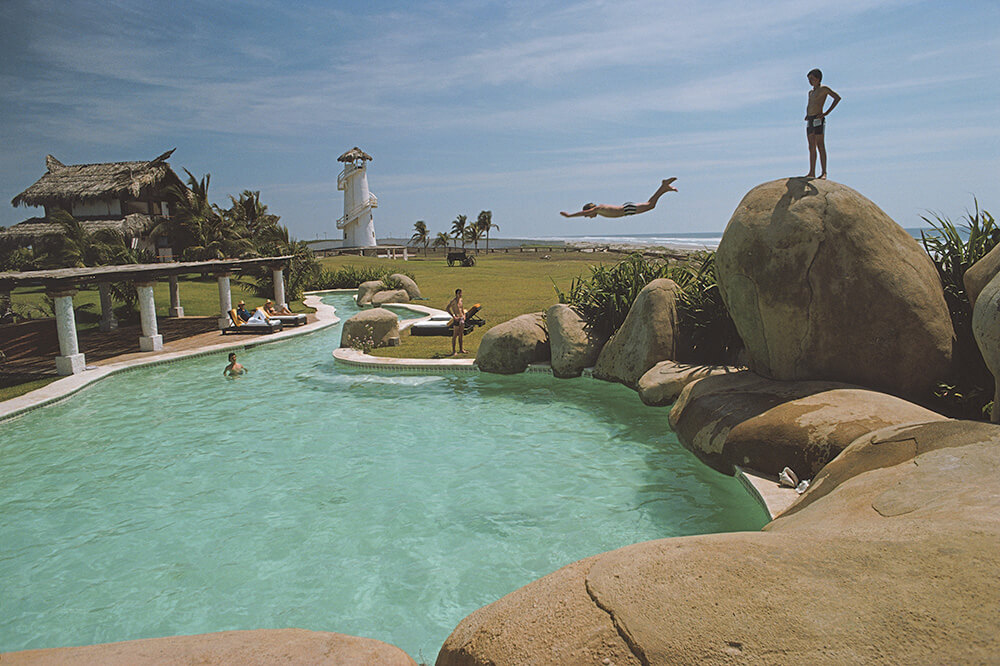 Product from Slim Aarons Poolside fine art photography
