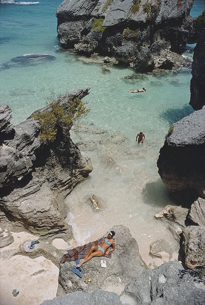 Las Brisas from Slim Aarons Beach fine art photography