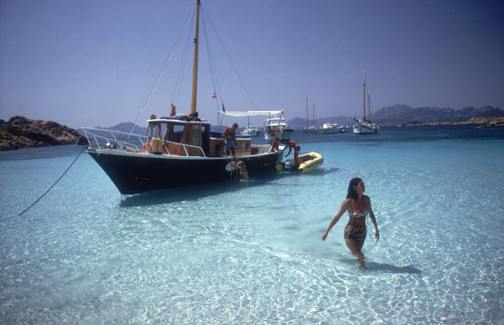 Yachting Trip from Slim Aarons Islands fine art photography