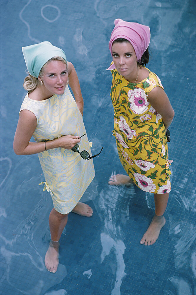 Palm Beach Ladies from Slim Aarons West Coast fine art photography