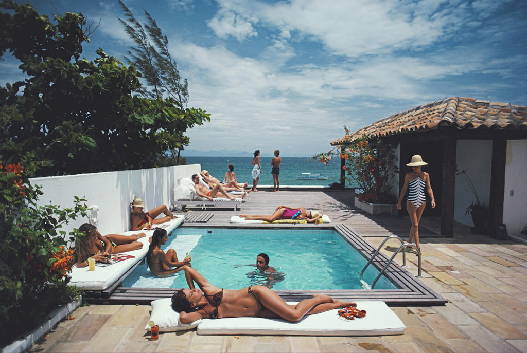 Buzios from Slim Aarons Poolside fine art photography
