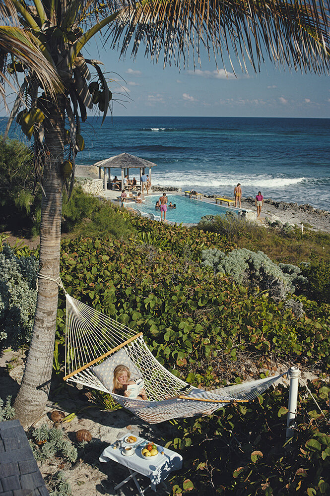 Bahamas from Slim Aarons Poolside fine art photography