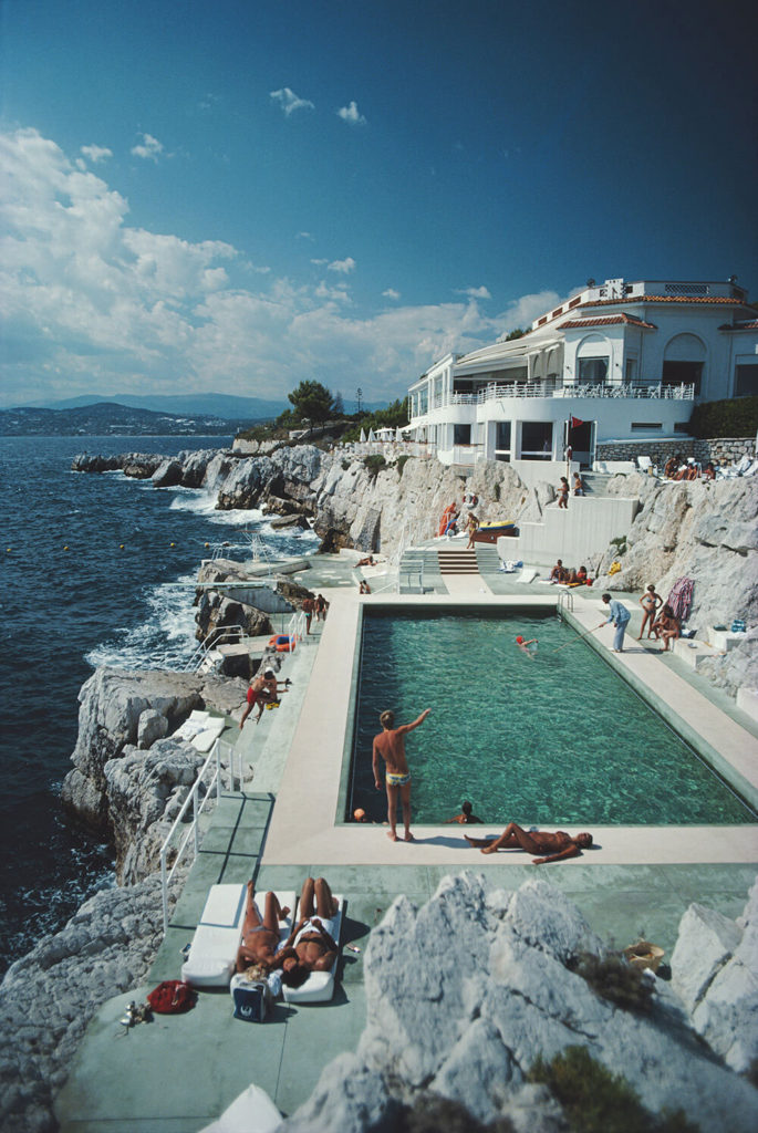 Eden-Roc Pool from Slim Aarons France  fine art photography