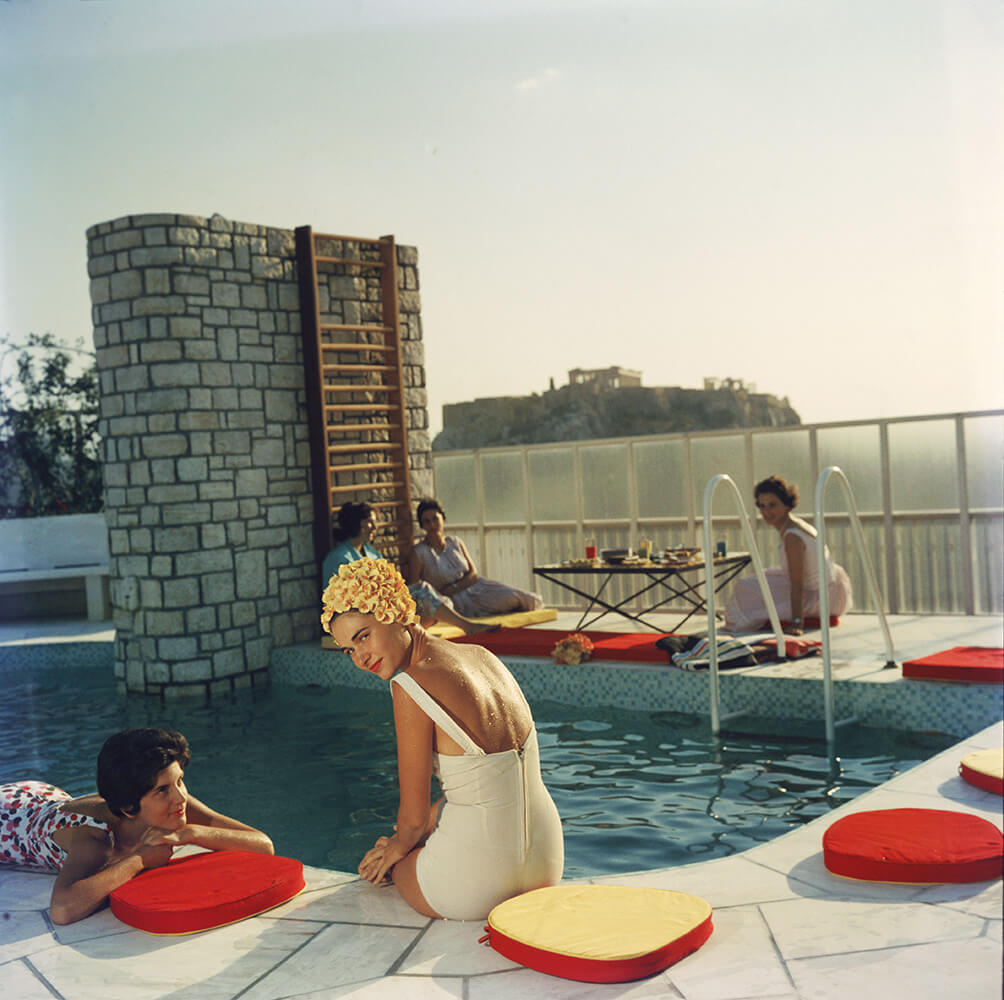 Penthouse Pool from Slim Aarons Poolside fine art photography