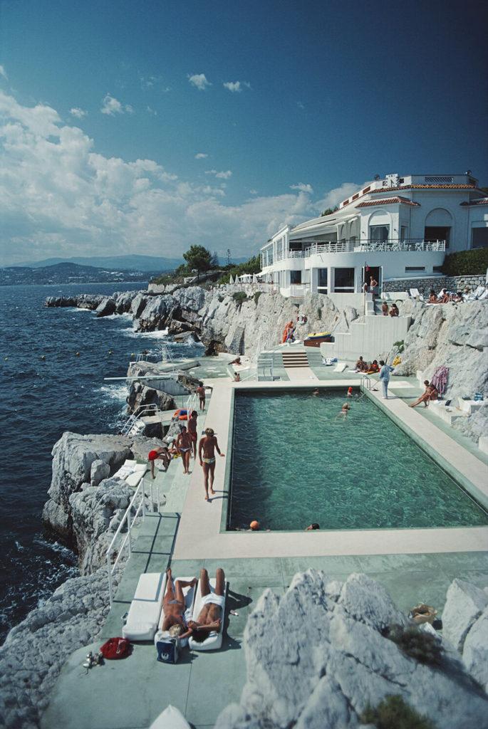 Hotel du Cap Eden-Roc from Slim Aarons Poolside fine art photography