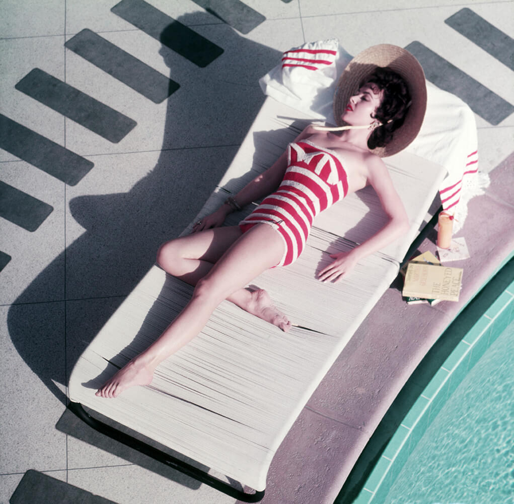 Mara Lane At The Sands from Slim Aarons Poolside fine art photography