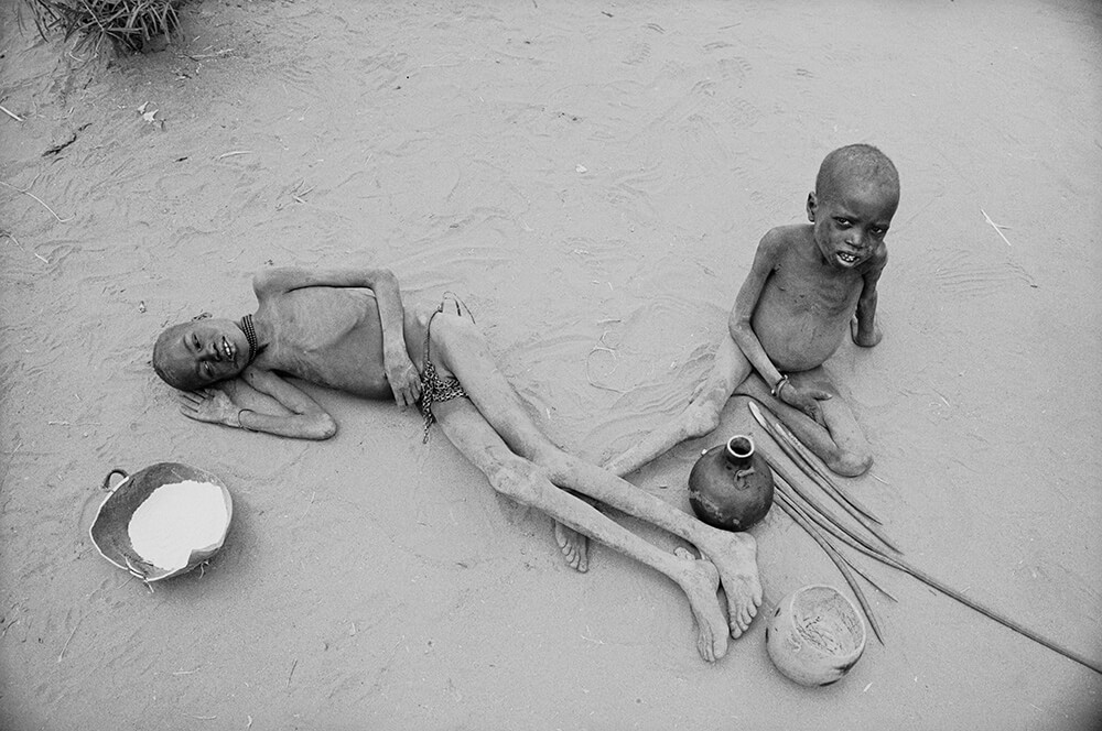 Starving Children from Terry Fincher fine art photography