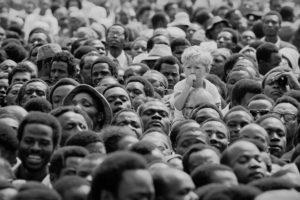 Boy At Kenyatta's Funeral