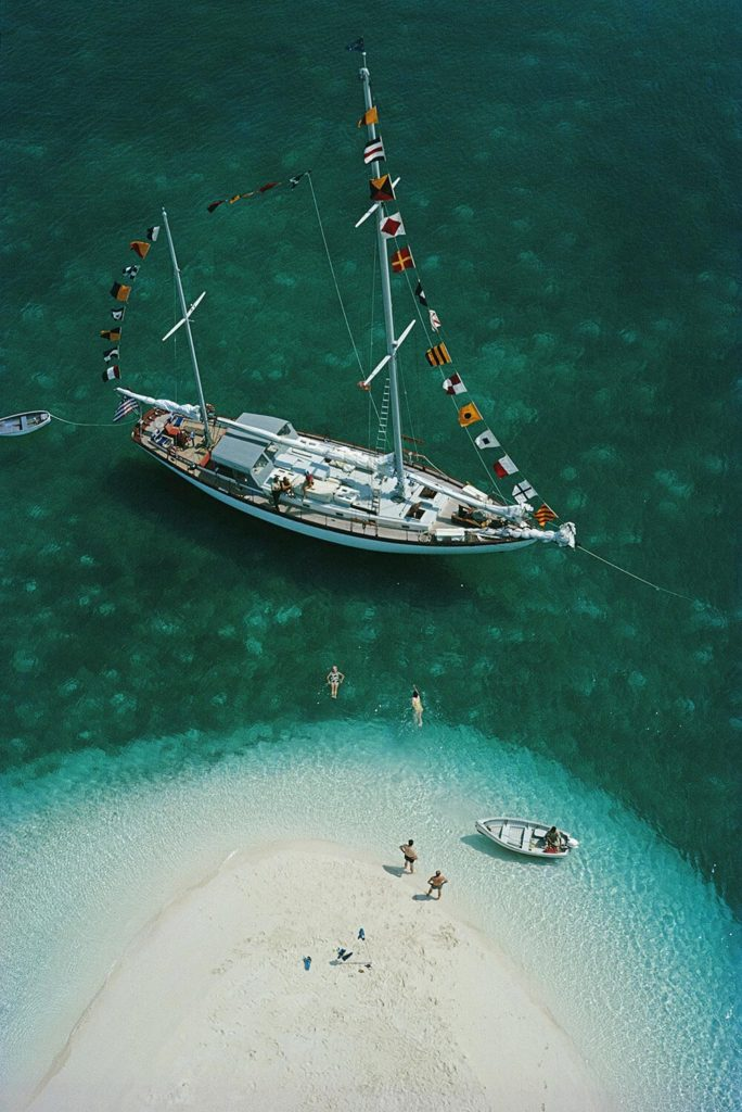 Exuma Holiday from Slim Aarons Islands fine art photography