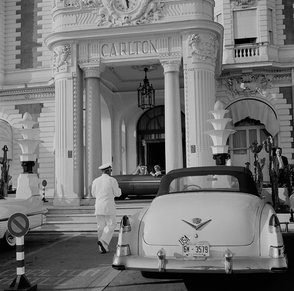 The Carlton Hotel from Slim Aarons France  fine art photography