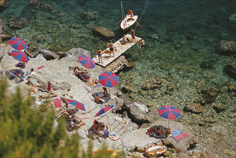 Product from Slim Aarons Italy fine art photography