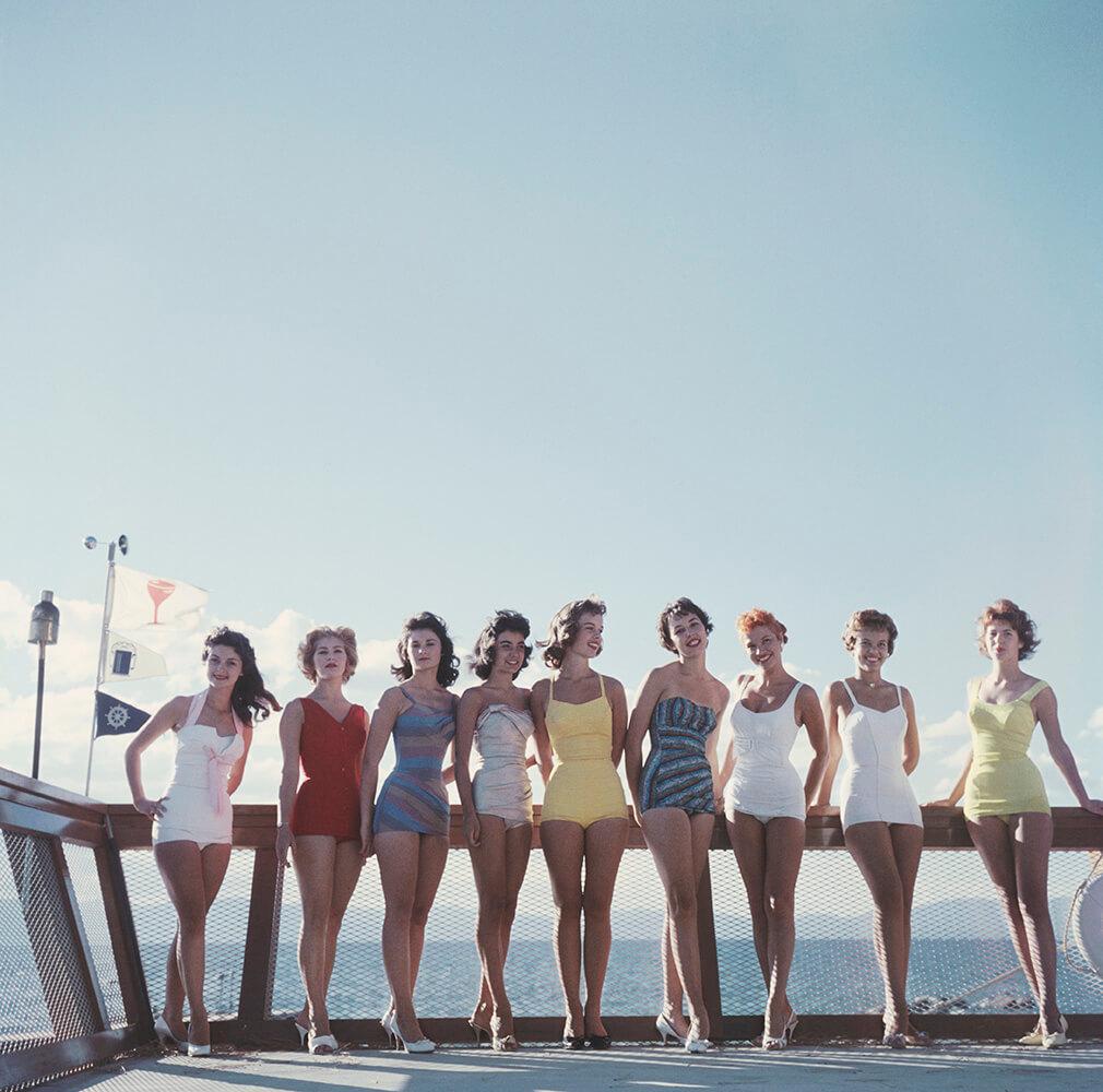 Lake Tahoe Ladies from Slim Aarons West Coast fine art photography