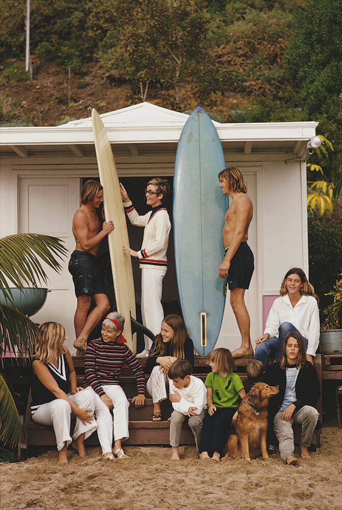 Laguna Beach from Slim Aarons West Coast fine art photography