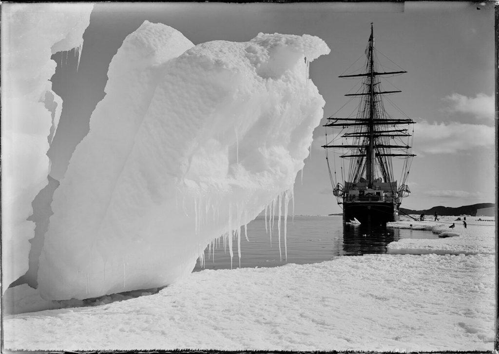 Terra Nova from Herbert Ponting fine art photography