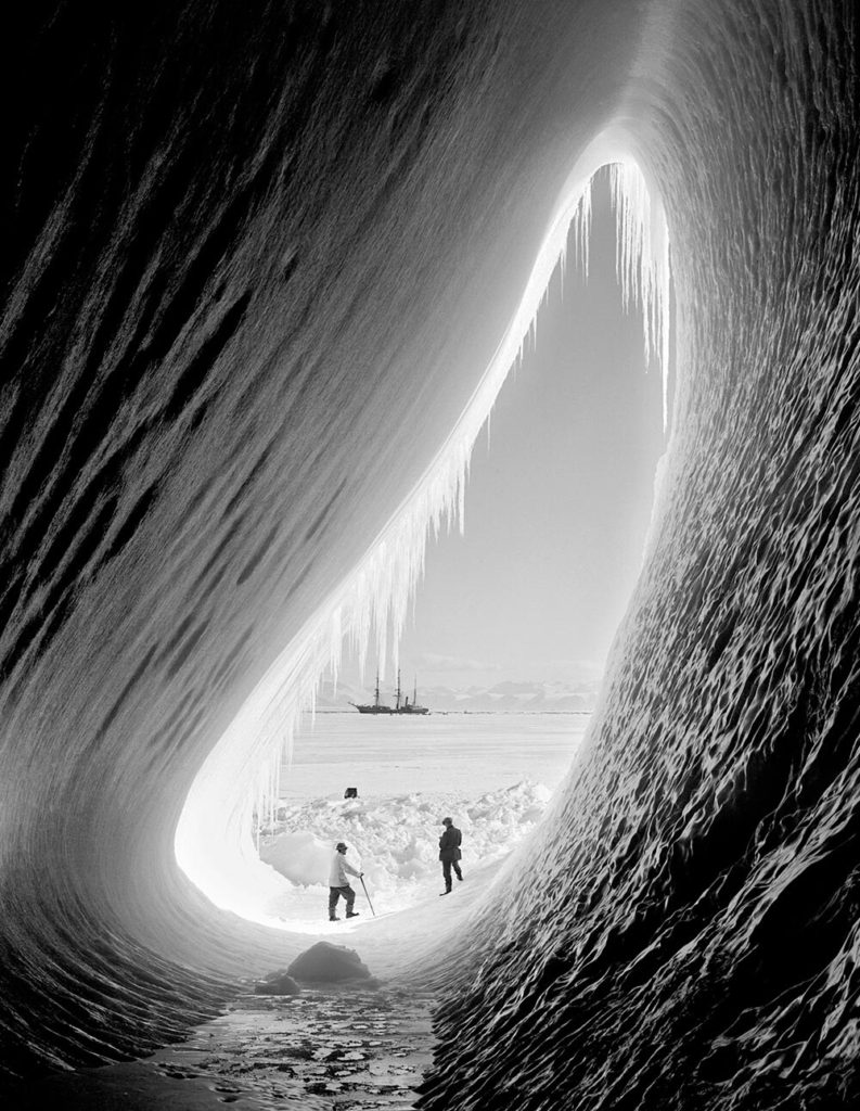 Antarctic Expedition from Herbert Ponting fine art photography