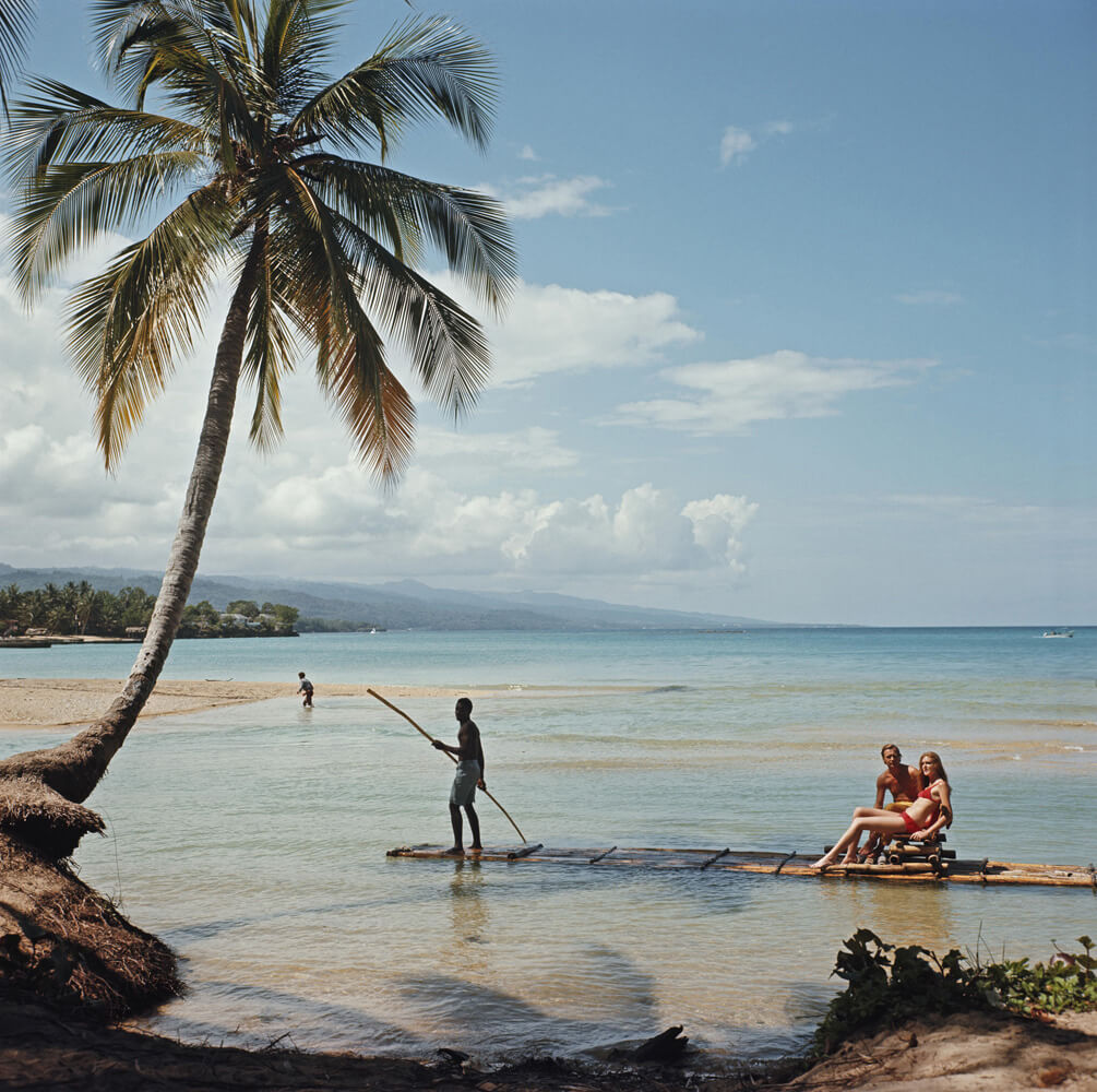 Kasimir Korybut from Slim Aarons Islands fine art photography