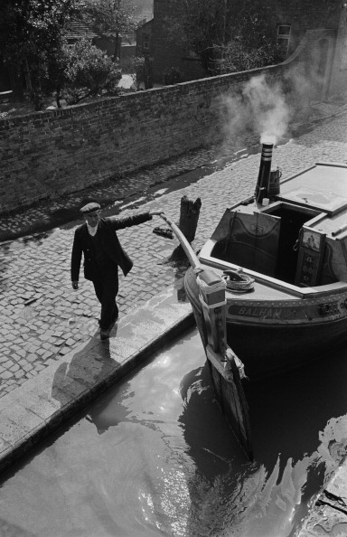 Bargee At Work from Thurston Hopkins fine art photography