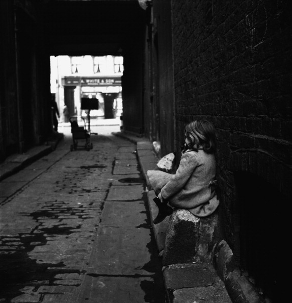 Child In Alleyway fine art photography